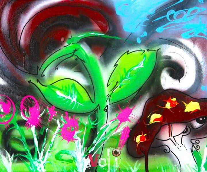 Rose Garden On Acid
