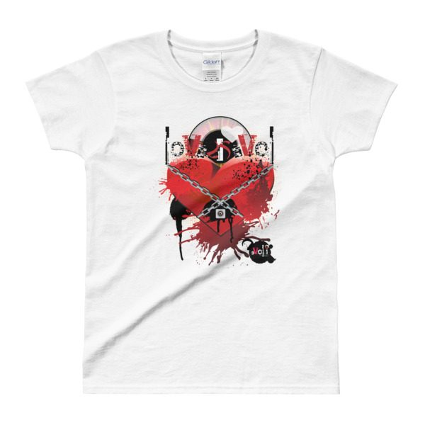 Love is Evol Ladies' T-shirt