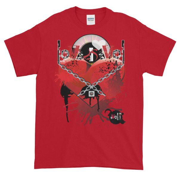 Love is Evol Short-Sleeve T-Shirt