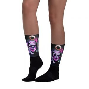 """Cereal Killers: Frankenberry"" Socks"