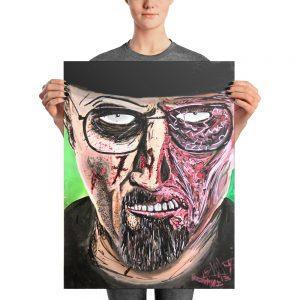 Breaking Dead Photo paper poster
