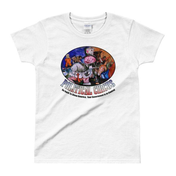 Political Circus Ladies' T-shirt