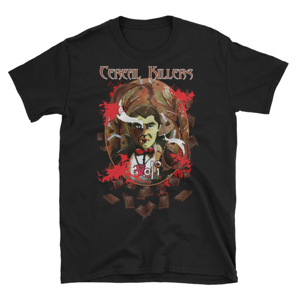 Cereal Killers: Count Chocula – Short-Sleeve Unisex T-Shirt