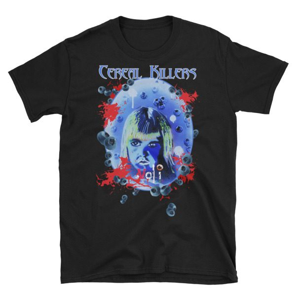 Cereal Killers: Boo Berry Short-Sleeve Unisex T-Shirt