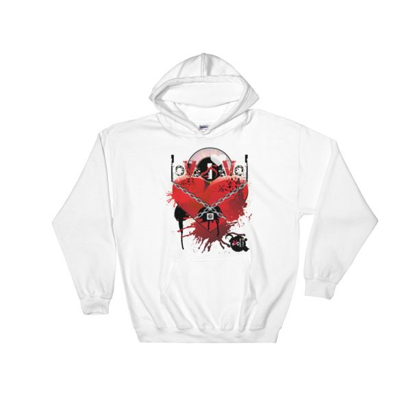Love is Evol Hooded Sweatshirt