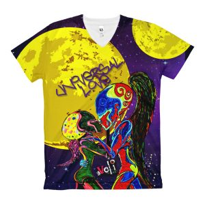 """Universal Love"" Women's V-Neck T-Shirt"