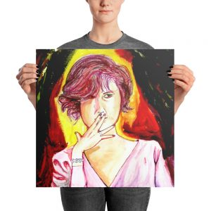 """""""Molly"""" Photo paper poster"""