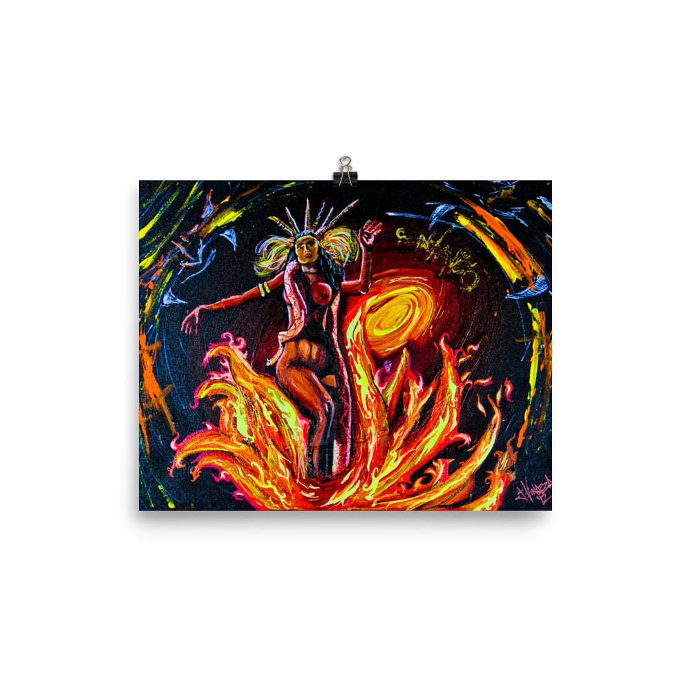 """Satanico Panamonium"" Photo paper poster"