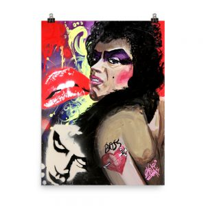 Dr Frankenfurter Photo Poster