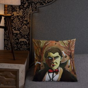 Count Chocula Premium Pillow