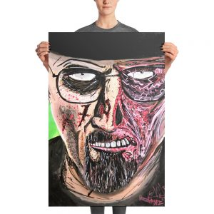 Breaking Dead Photo paper poster
