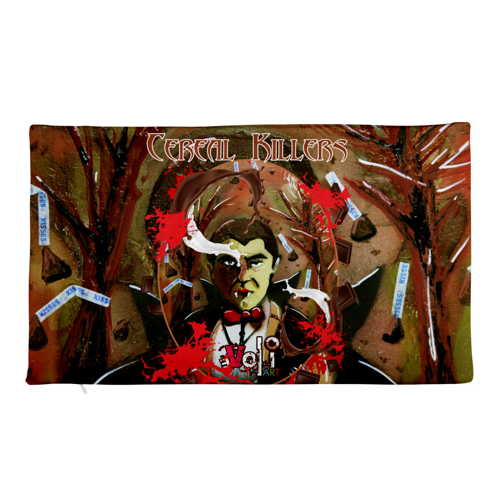 Count Chocula Premium Pillow Case only