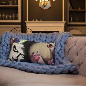 """Dr Frank N Furter"" Premium Pillow"