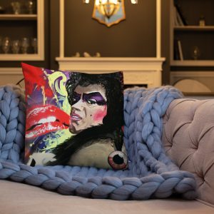 """Dr Frank N Furter"" Premium Pillow"