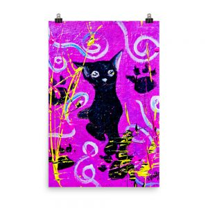 Beautiful Black Pussy Photo paper poster