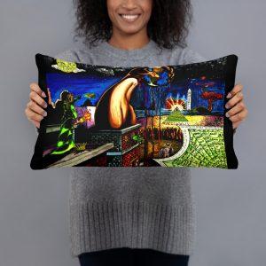 Worlds Biggest Secret Basic Pillow