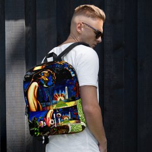 """Worlds Biggest Secrets"" Backpack"