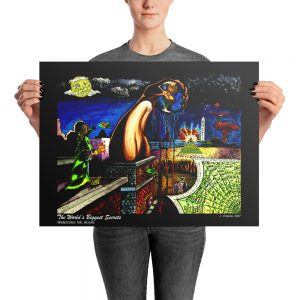 """Worlds Biggest Secret"" Photo paper poster"