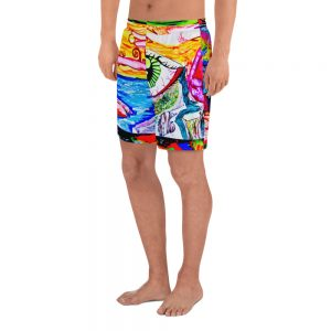 """""""Eye In The Dreamscape"""" Men's Athletic Long Shorts"""