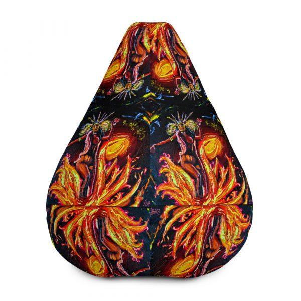 """Satanico Pandemonium"" Bean Bag Chair w/ filling"