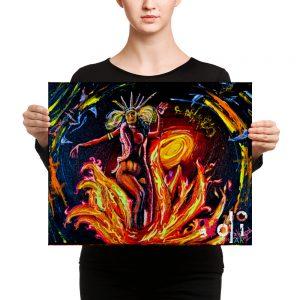 """Santanico Pandemonium"" Canvas Print"
