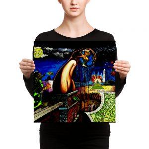 """Worlds Biggest Secret"" Canvas"