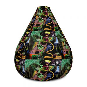 """Wonderland"" Bean Bag Chair w/ filling"