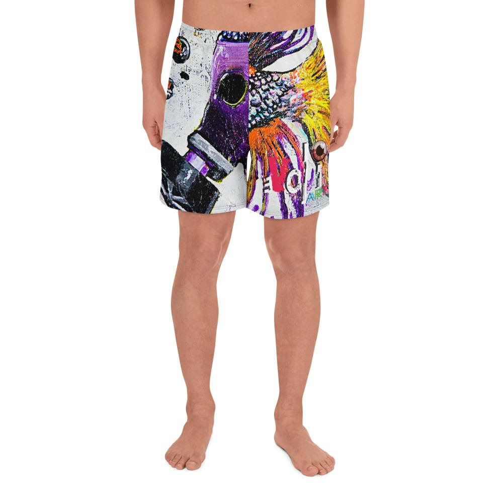 """F*** You BP"" Men's Athletic Long Shorts"
