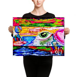 """Eye In The Dreamscape"" Canvas"