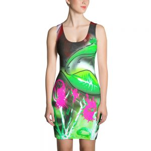 """Rose Garden on Acid"" Dress"