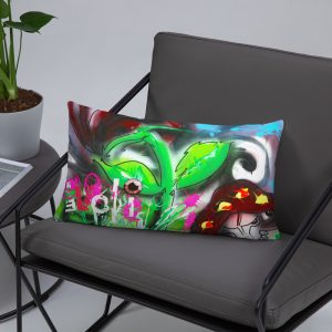 """Rose Garden On Acid"" Pillows"