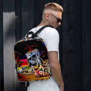 """""""Cycle of Birth and Death""""  Backpack"""