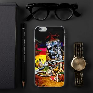 """The Cycle of Birth and Death"" iPhone Case"