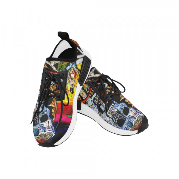 Cycle of Birth and Death Draco Men's Sneakers (Model 025)