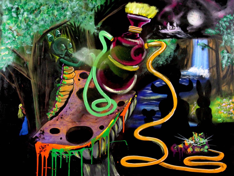 Wonderland-18×24