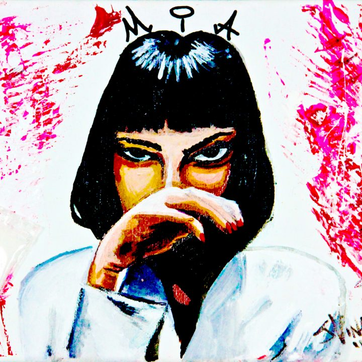 MIA | Pulp Fiction Fan Art