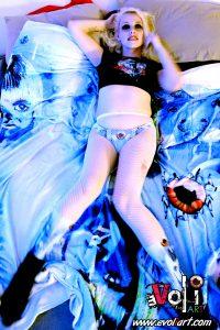 Boo Berry Bedroom Fashion Shoot