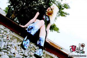 Fort Lauderdale Urban Fashion Shoot - Ruby Kitsune